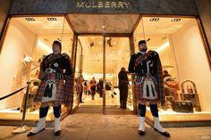 Mulberry英國愛丁堡Edinburgh旗艦店新開幕!皮件師傅現場示範製包工藝
