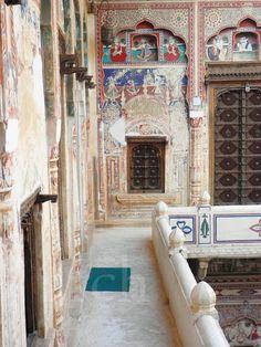 Hotel Mandawa Haveli, Rajasthan, India