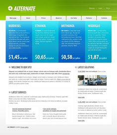 Alternate Alternative Website Templates by Di