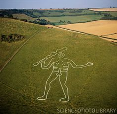 to (location): Dorset, England to see the Cerne Abbas Giant in the flesh Science Photos, English Countryside, In The Flesh, Historical Sites, Photo Library, Hanging Out, The Neighbourhood, Places To Visit, Scenery