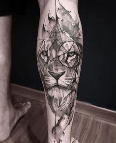 Lion Tattoo Hand — Hand Tattoos & Home Decor Wolf Tattoos, Hand Tattoos, Lion Head Tattoos, Forearm Tattoos, Animal Tattoos, Body Art Tattoos, Lion Leg Tattoo, Tatoos, Lion Tattoo Sleeves