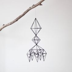 Items similar to Himmeli no. 4 / Hanging Mobile / Geometric Sculpture / Modern Home Decor on Etsy Geometric Sculpture, Modern Sculpture, Hanging Mobile, California Homes, Winter Time, Hostess Gifts, Geometry, Cool Designs, House Design