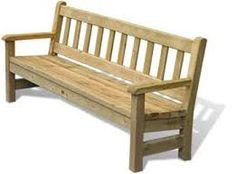 Commercial Grade Redwood Memorial Bench This Outdoor