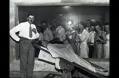 histored - John Dillinger in morgue with Coroner Frank J. Walsh