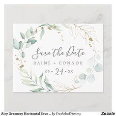 Postcard Wedding Invitation, Formal Wedding Invitations, Beautiful Wedding Invitations, Watercolor Wedding Invitations, Elegant Wedding, Sage Wedding, Wedding Wishes, Wedding Planning Inspiration, Modern Wedding Inspiration