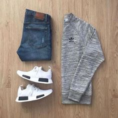 Outfit Ideas For Men: Stylish Mens Clothes That Any Guy Would Love Look Fashion, Urban Fashion, Mens Fashion, Mode Outfits, Fashion Outfits, Fashion Clothes, Casual Wear, Casual Outfits, Men Casual