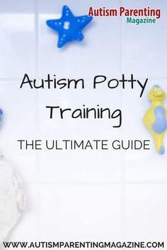 Autism potty training – the ultimate guide - autism parenting magazine Potty Training Rewards, Potty Training Girls, Toilet Training, Training Tips, Potty Training Humor, Crate Training, Training Classes, Autism Sensory, Autism
