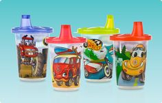 Tazas Coches Wash or Toss | 9+ Meses | 300 ml