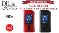 Laisimo Wyvern 235 TC Full Review and Big Giveaway with Charts and Disas...