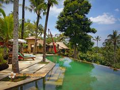 Toya Bali that offers three bedroom villa in Ubud, Bali. http://www.individualbali.com/villas/toya-bali-villa