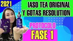 Como Tomar Las Gotas Resolution y Iaso Tea Fase 1(ACTUALIZADO 2021)