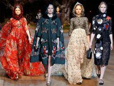 Dolce & Gabbana Fall/Winter 2014-2015 Collection - Milan Fashion Week  #MilanFashionWeek #MFW #fashionweek