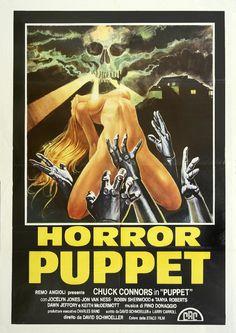 """Horror Puppet"" (1978) di David Schmoeller #exploitation #poster"