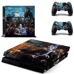 Generous Sony Ps4 Playstation 4 Skin Design Aufkleber Schutzfolie Set Video Game Accessories Ps Buttons 2 At All Costs