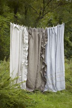 7 Aware Simple Ideas: Drapes Curtains Dining ikea curtains how to make.Rustic Curtains Grey ikea curtains how to make. Ruffle Curtains, Ikea Curtains, Drop Cloth Curtains, Rustic Curtains, Kitchen Curtains, Panel Curtains, Curtain Panels, Linen Curtain, Curtains With Pom Poms