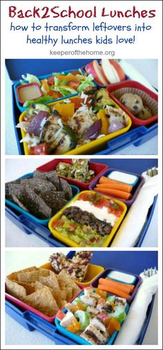 How to Transform Leftovers into Healthy Lunches Kids LOVE!
