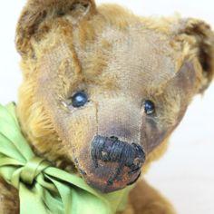 Very RARE Antique Teddy Bear Brown Hunchback Bear Mohair 10S❤ ❤️ | eBay