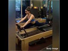 Deepika Padukone Hot Workout at Gym