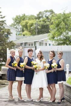 Yellow & Blue Wedding
