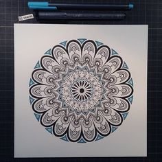 "Mandala Designs, woerm: Daily Mandala #22 - ""This is my simple..."