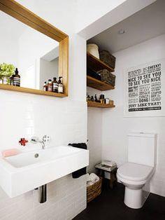 Toaleta we wnęce