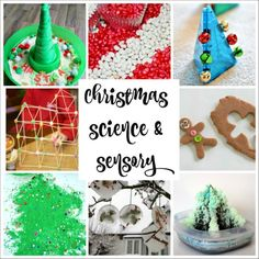 Christmas Science Experiments and Sensory Play