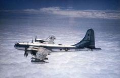 Boeing KB-50J in flight - Boeing B-50 Superfortress - Wikipedia, the free encyclopedia: