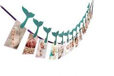 Mermaid Photo Banner, Sweet Heart First Birthday Justborn To. First Birthday Party Decorations, Mermaid Party Decorations, First Birthday Parties, First Birthdays, Party Themes, Birthday Ideas, Birthday Photo Banner, First Birthday Photos, First Birthday Girl Mermaid