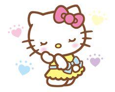 Por fin llegaron los nuevos stickers de Hello Kitty. Úsalo todos los días para hacer tus conversaciones aún más divertidas.