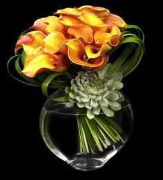 Ovando -great flower arrangements.