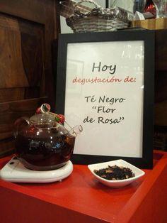 "Momento ""Té Negro Flor de Rosa"""