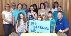 Big Brothers-Big Sisters Group Learn About Community Service
