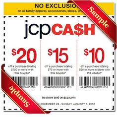 Printable jcpenney Coupon June 2015