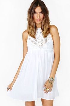 Cruel Summer Crochet Dress