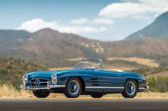 Made in limited numbers and featuring many technological innovations, 300 SL cars are now considered some of the most valuable vintage cars a collector can own. This 1957 Mercedes-Benz 300 SL Roadsters takes it up a notch as it is one of only 554 models produced that year and displays a range of rare, early …