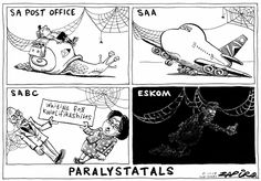 Cartoons and political satire featuring Zapiro, award winning satirist Carlos Amato and the hilarious Madam & Eve. Published by the Mail & Guardian Online. Political Satire, Political Cartoons, Sunday Times Newspaper, Airline Humor, News South Africa, Pilot Humor, Hilarious, Funny, Playing Cards