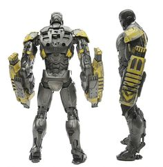Iron Man 3 Mark XXV Striker 1/12 Scale Die-Cast Action Figure