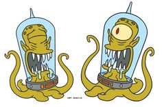 """Kang & Kodos from """"The Simpsons"""""""