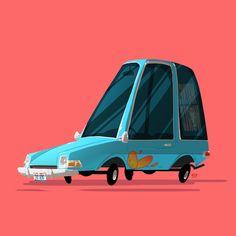 The Greatest Rides by Ido Yehimovitz   Abduzeedo Design Inspiration