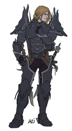 Arthas from my ID by scourge-minion on deviantART