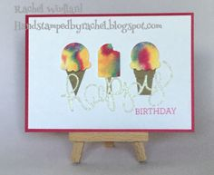 Gelato, Cool Treats, Stampin Up Occasions 2017