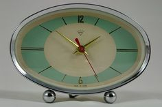 vintage 50s atomic clock by olknarf