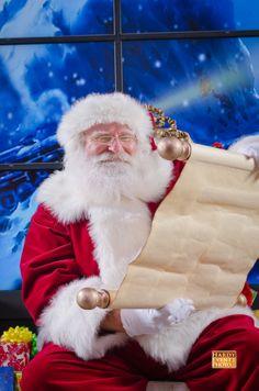 Santa Claus is checking his list!