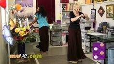 (Apple) Dance-along for office and work stress relief • Easy cardio workout anytime you are ready to loosen up .