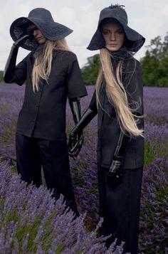 Lucan Gillespie, Frederikke Sofie by Sean + Seng for Dazed Magazine Fall Winter…