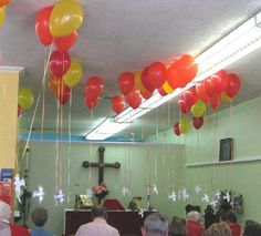 Hmmmmmmm........this is kinda neat......Confirmation balloon idea