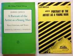 A Portrait of the Artist as a Young Man with Cliffs Notes (1977, Both Paperback)