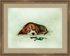 Russian Artists New Wave Framed Print featuring the drawing Sleeping Puppy And Sleeping Froggy by Elena Vedernikova Art Prints For Home, Sand Sculptures, Sand Art, Medium Art, Unique Art, Fine Art America, Wave, Moose Art, Framed Prints
