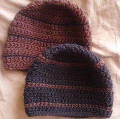 44815a9cc9f Hand Crochet Mens Skullcap Beanie Hat Style Like The Country Singer Zac  Brown - Thumbnail 3