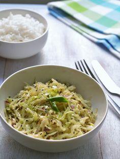 stir fried cabbage with whole spices #stirfried #cabbage #ericasyummyfood